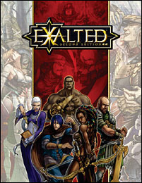 Exalted 2nd Edition cover