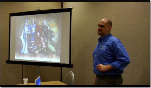 Screenshot from WHFRP Seminar video