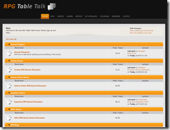 Screenshot RPG Table Talk