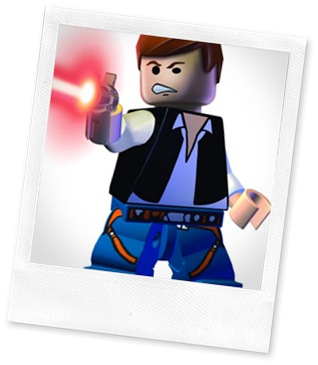 Han Solo from LEGO Star Wars