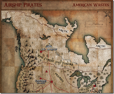 American Wastes Map