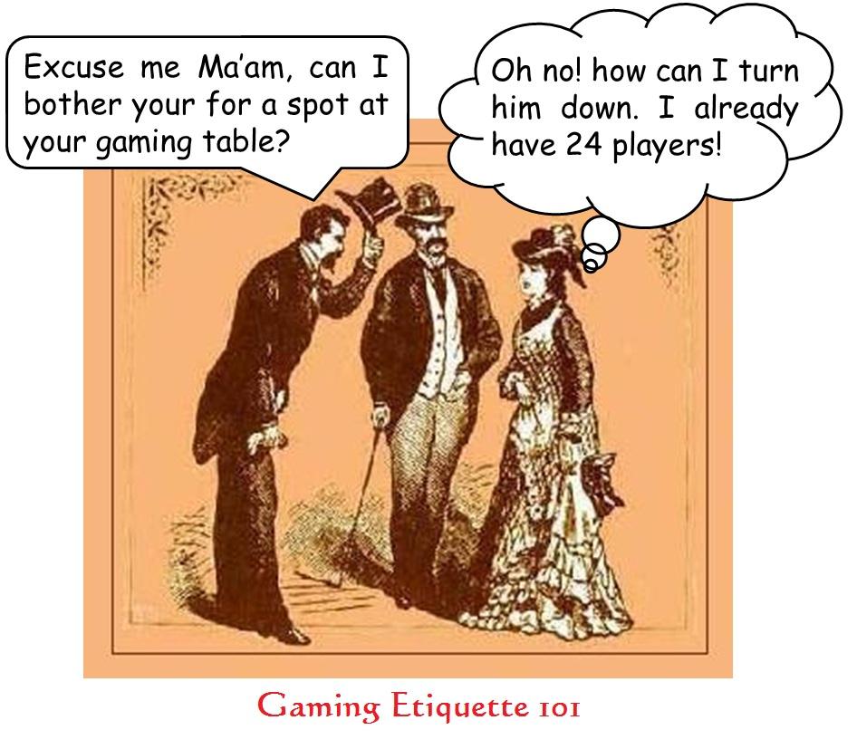 Etiquette: Gaming Etiquette 101