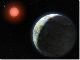 Gliese 581g (Image: Lynette Cook)