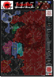 Spinward Marches Map - Scout Map