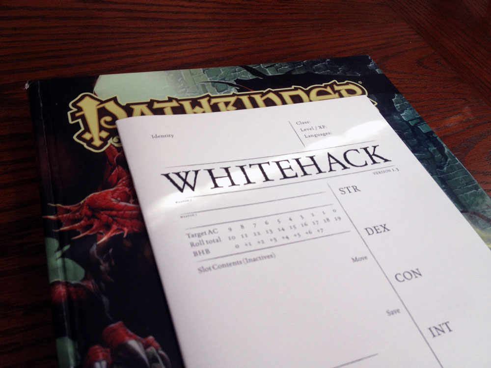 Whitehack-Pathfinder