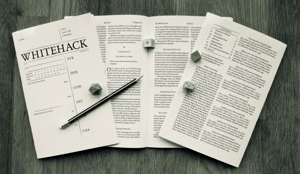 Whitehack stock photo