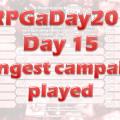 RPG a Day 15