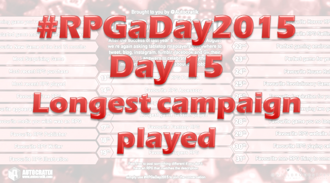 RPG a Day 2015 Challenge – Day 15