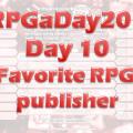 RPGaDay Day10