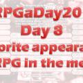 RPGaDay Day8