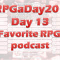 RPGaDay day 13