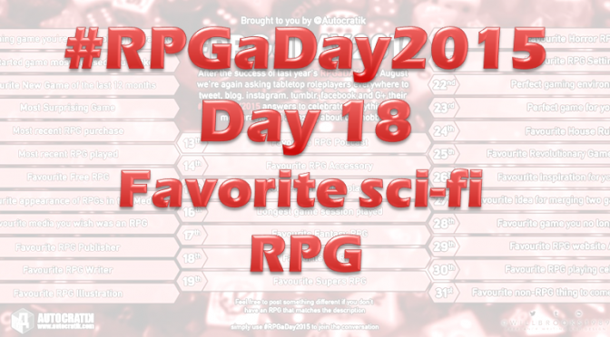 RPG a Day 2015 Challenge – Day 18