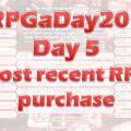 RPGaDay day 5