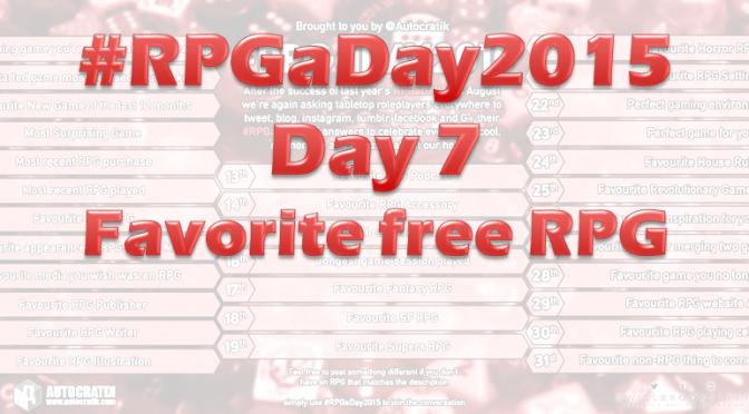 RPGaDay day 7