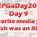 RPGaDay day 9