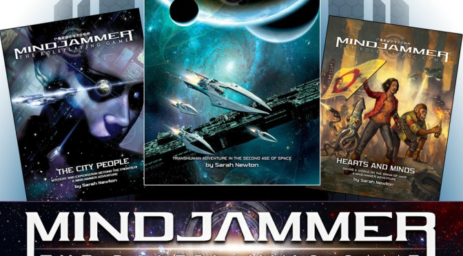 Kickstarter: Mindjammer – The Roleplaying Game
