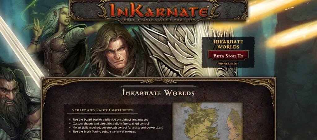 InKarnate page