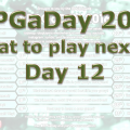 RPG a Day 2016 Day 12