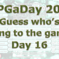 RPG a Day 2016 Day 16