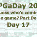RPG a Day 2016 Day 17