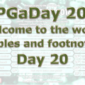 RPG a Day 2016 Day 20