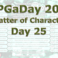 RPG a Day 2016 Day 25