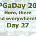 RPG a Day 2016 Day 27