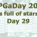 RPG a Day 2016 Day 29