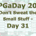 RPG a Day 2016 Day 31