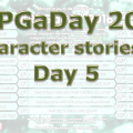 RPG a Day 2016 Days 5