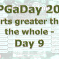 RPG a Day 2016 Days 9