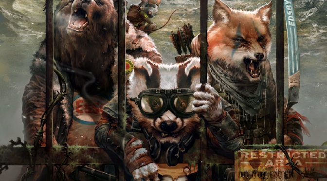 Review: Mutant Year Zero: Gen Lab Alpha
